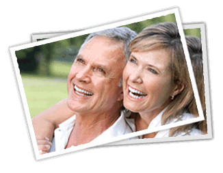 a mature couple laughing and smiling because of the teeth whitening special offered by this dentist in Lynwood, WA