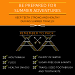 Six Simple Tips to Maintain Healthy Teeth While Traveling This Summer