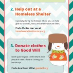 Ideas on How You Can Give Back | Holiday Survival Guide