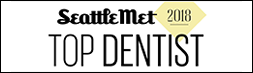 Seattle Met Top Dentist 2018 Badge