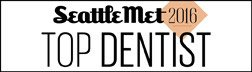 Seattle Met Top Dentist 2016 Badge